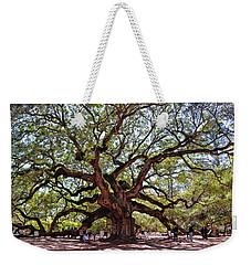 Angel Oak Tree 009 Weekender Tote Bag