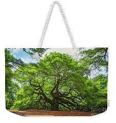 Angel Oak Tree In South Carolina  Weekender Tote Bag