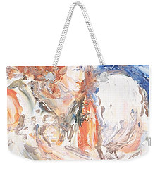 Angel Of Courage Weekender Tote Bag