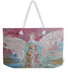 Angel Of Divine Love Weekender Tote Bag