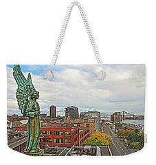 Angel Of Old Montreal Weekender Tote Bag