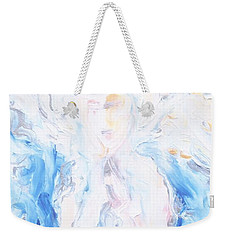 Angel Of Peace Weekender Tote Bag