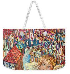 Angel Of Prague Weekender Tote Bag