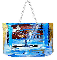 Angel Over Water Weekender Tote Bag
