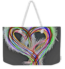 Angel Pride Weekender Tote Bag