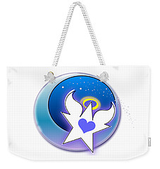 Angel Star Icon Weekender Tote Bag