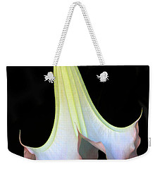 Angel Trumpet Weekender Tote Bag by Mariarosa Rockefeller