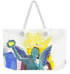 Angel, Victory Is Now Weekender Tote Bag