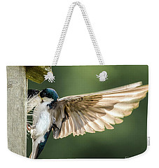 Angel Wings Weekender Tote Bag by Amy Porter