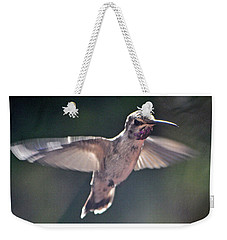 Angel Wings  Hummer In Flight Weekender Tote Bag