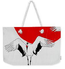 Angelic Crane Weekender Tote Bag