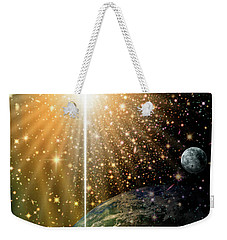 Angelic Star Over Bethlehem Weekender Tote Bag