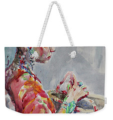 Angelica Weekender Tote Bag by Becky Kim