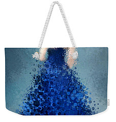 Weekender Tote Bag featuring the digital art Angelica by Nancy Levan
