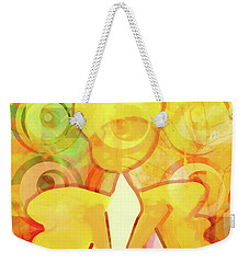 Angelino Yellow Weekender Tote Bag