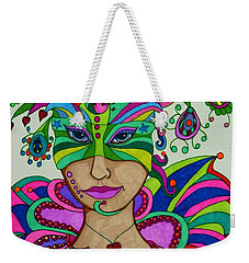 Angelique Weekender Tote Bag by Alison Caltrider