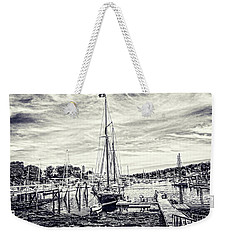 Weekender Tote Bag featuring the digital art Angelique Resting At Home by Daniel Hebard