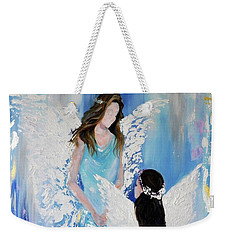 Angels Weekender Tote Bag