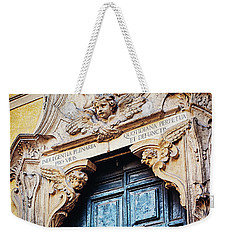 Weekender Tote Bag featuring the photograph Angels In Rome Italy by Melanie Alexandra Price