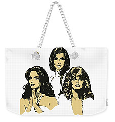 Angels Weekender Tote Bag by Julio Lopez