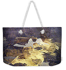 Weekender Tote Bag featuring the painting Angels Over Palm Springs by Nancy Kane Chapman