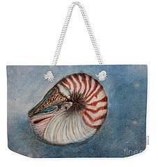 Angel's Seashell  Weekender Tote Bag by Kim Nelson