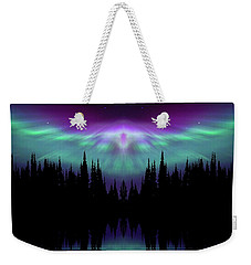 Angels Watching Over You Weekender Tote Bag by Andrea Kollo
