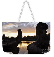 Angkor Sunrise 5 Weekender Tote Bag
