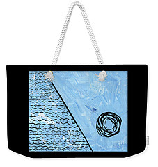 Angle Of Repose Horizontal Weekender Tote Bag