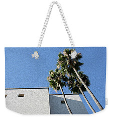Angles And 3 Palm Tress Weekender Tote Bag