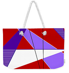 Angles And Triangles Weekender Tote Bag