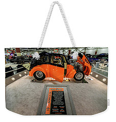 Weekender Tote Bag featuring the photograph Anglia by Randy Scherkenbach