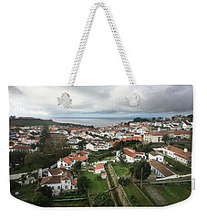 Weekender Tote Bag featuring the photograph Angra Do Heroismo, Terceira by Kelly Hazel