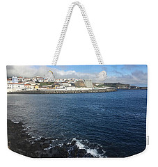 Weekender Tote Bag featuring the photograph Angra Do Heroismo, Terceira, The Azores, Portugal by Kelly Hazel