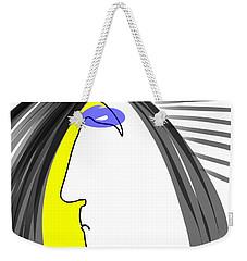 Angry 3 Weekender Tote Bag
