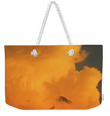 Angry Cloud Profile At Sunset Weekender Tote Bag