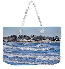 Angry Sea Weekender Tote Bag