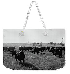 Angus Herd Cow Count Weekender Tote Bag