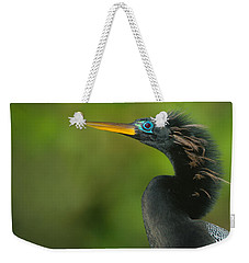 Anhinga Anhinga Anhinga, Tortuguero Weekender Tote Bag by Panoramic Images