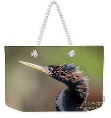 Anhinga Portrait Weekender Tote Bag