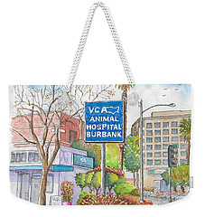 Anibal Hospital Burbank In Olive St., Burbank, California Weekender Tote Bag