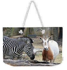 Animal Friends Weekender Tote Bag by Suhas Tavkar