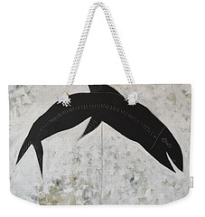 Animalia Black Fish Weekender Tote Bag