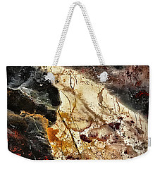 Weekender Tote Bag featuring the photograph Anna River by Walt Foegelle