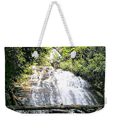 Weekender Tote Bag featuring the photograph Anna Ruby Falls by Jerry Battle