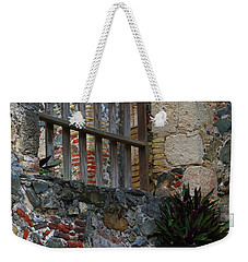 Annaberg Ruin Brickwork At U.s. Virgin Islands National Park Weekender Tote Bag