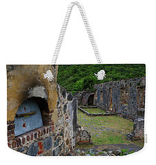 Annaberg Sugar Mill Ruins At U.s. Virgin Islands National Park Weekender Tote Bag