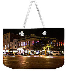 Annapolis At Night Weekender Tote Bag