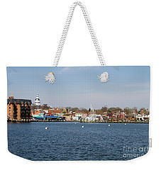 Annapolis City Skyline Weekender Tote Bag