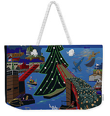 Annapolis Holiday Lights Parade Weekender Tote Bag